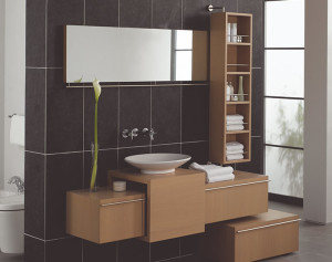 10 Cheap Interior Design Ideas Make Your Small Bathroom Look Amazing Beautiful And Bigger - Tips-Avoid installing unnecessary things