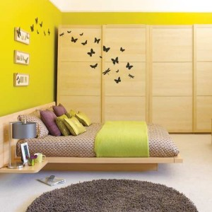 10 Interior Design Ideas Make Your Small Bedroom Look Bigger on a Budget Add large painting on the wall