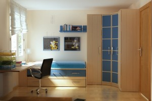10 Interior Design Ideas Make Your Small Bedroom Look Bigger on a Budget Manage the furniture properly