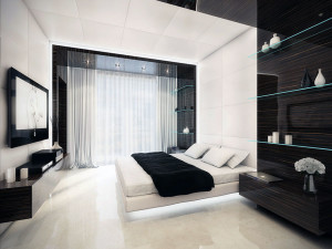 10 Interior Design Ideas Make Your Small Bedroom Look Bigger on a Budget Use light color scheme