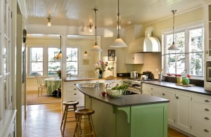 10 Interior Design Ideas Make Your Small Kitchen Look Amazing and Bigger on A Budget-Install windows on your kitchen