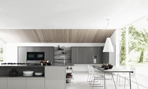 10 Interior Design Ideas Make Your Small Kitchen Look Amazing and Bigger on A Budget-Merge with another room