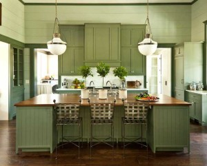 10 Interior Design Ideas Make Your Small Kitchen Look Amazing and Bigger on A Budget-Paint your kitchen properly