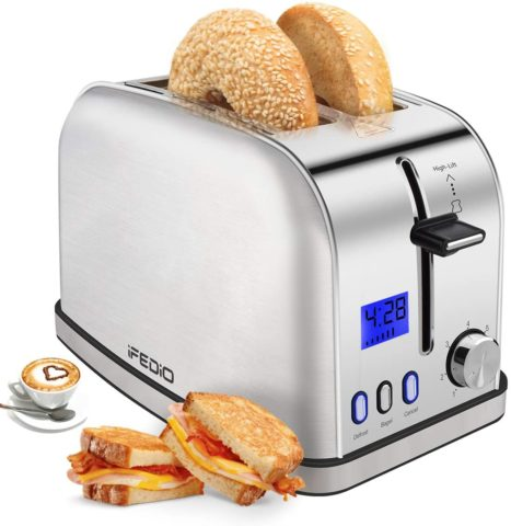iFedio Best Rated Prime Toaster
