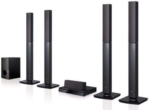 LG LHD657 Bluetooth 5.1-Channel Home Theater System