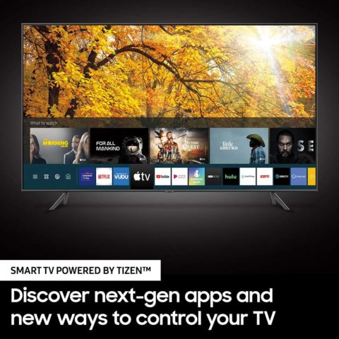 SAMSUNG UN50TU8000FXZA 50-inch 4K-UHD HDR Smart TV (2020 model)