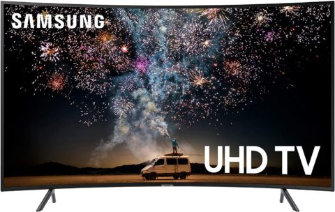 Samsung UN55RU7300FXZA 55-Inch Curved 4K UHD Smart TV (2019 model)