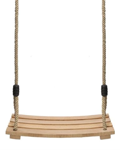 Pellor Wood Tree Swing Seat