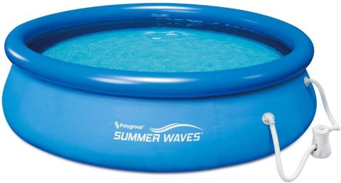 Summer Waves Inflatable Swimming Pool