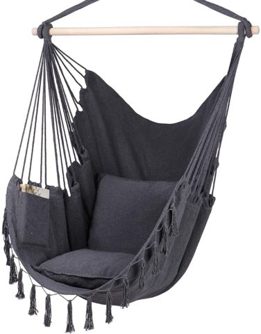 Y- STOP Hammock Chair Hanging Rope Swing