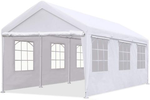 Quictent 10'x20' Heavy-Duty Carport Gazebo