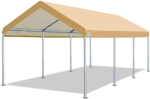 ADVANCE OUTDOOR 001BY 10 x 20 FT Heavy-Duty Carport