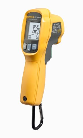 FLUKE-62 MAX + Non-Contact IR Thermometer