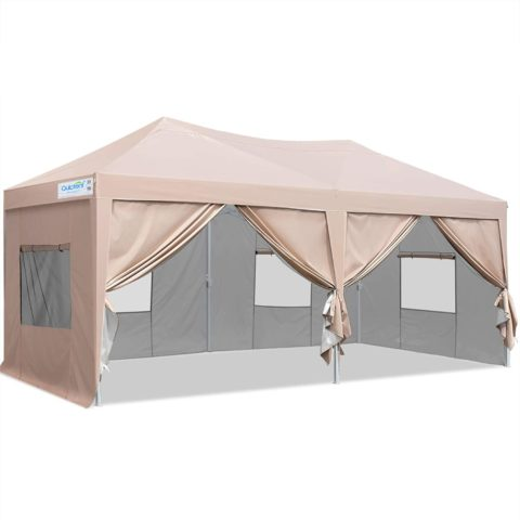 Quictent Privacy 10x20ft Ez Pop-Up Canopy, Royal Blue